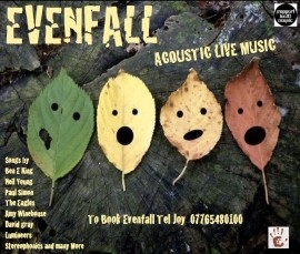 Evenfall - Duo - Manchester, North of England