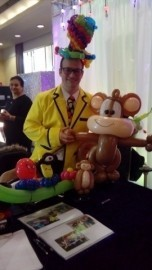 Bradley Bronson - Balloon Modeller - Barnet, London