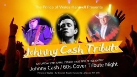 John Barry - Johnny Cash Tribute Act - Wisbech, East of England