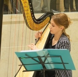 Jelena Tutic - Harpist - Belgrade, Serbia