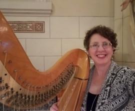 Harpist-Miriam Shilling image