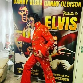 Danny olbison a tribute to elvis  - Elvis Impersonator - Barnsley, Yorkshire and the Humber