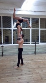 Duo hand to hand - Alona&Stas - Acrobalance / Adagio / Hand to Hand Act - Ukraine/Odessa, Ukraine