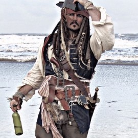 Captain Jack Sparrow & Pirates - Lookalike - Whitby, North of England