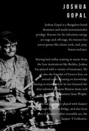 Joshua Gopal  - Drummer - India, India