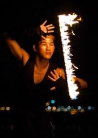 Ehrlich  - Fire Performer - Manila, Philippines