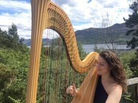 Steaph Chaimbeul - Harpist - Kyle of Lochalsh, Scotland