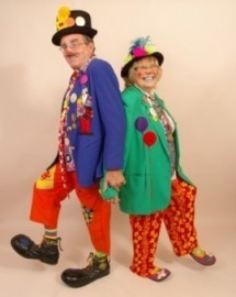 Razz the clown & Aunty Pearl - Clown - Norfolk, South East