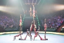 Humanpyramid  - Dance Act - Dar es salam, Tanzania