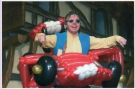Groovy Gazza - Balloon Modeller - Sheffield, North of England