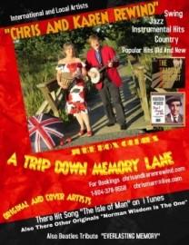 Chris and Karen Rewind, Specialty act, A trip down memory Lane  - Duo - Chilliwack, British Columbia