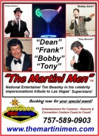 The Martini Men - Tribute Act Group - Virginia Beach, Virginia
