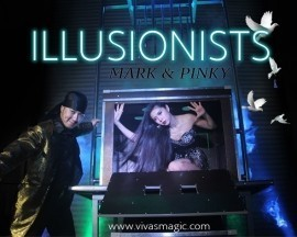 The Illusion Of Mark & Pinky - Stage Illusionist - Malaysia