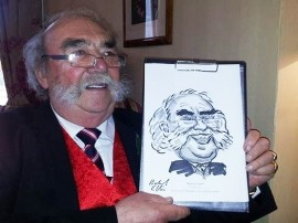 Richard Ellis Caricaturist image