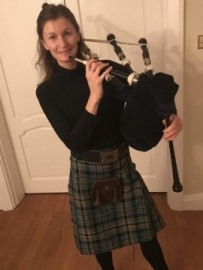 Millie - Bagpiper - Bagpiper - Hammersmith, London