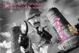 Inspector Clouseau Lookalike (Charles Haslett) - Inspector Clouseau Lookalike - Dorset, South East