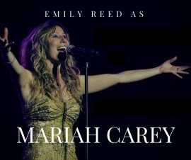Emily Reed as Mariah Carey - Mariah Carey Tribute Act - Crawley Down, South East