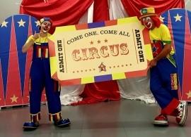 Double Trouble  - Clown - Newton Stewart, Scotland
