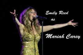 Emily Reed as Mariah Carey image