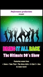 Bring it all Back- The ultimate 90's Show - Other Speciality Act - UNITED KINGDOM, West Midlands