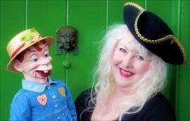 Miss Merlynda & Her Cheeky Puppet Friends! Ventriloquist & Puppeteer For Children's Events - AND - Merlynda Marlene - Cabaret Comedy Ventriloquist & Singing Ventriloquist For Adult Occasions - Puppeteer - Bideford, South West