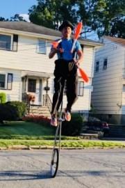 Safe Distance One Man Circus Sidewalk Show' - Juggler - Newark, New Jersey