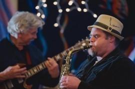 AJ - Jazz Band - Heriot Bay, British Columbia