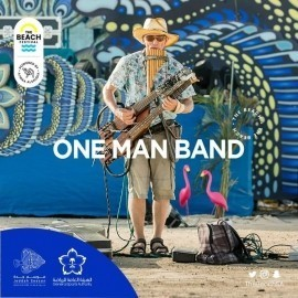One-man band Mike - Multi-Instrumentalist - Russian Federation