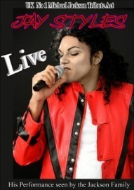 Jay Styles Michael Jackson  - Michael Jackson Tribute Act - Chatteris, East of England