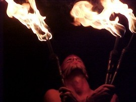 Bash & the Fire Dancers of Creative Flame - Fire Performer - Wilmington, North Carolina