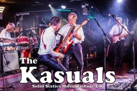 The Kasuals Solid Sixties Music Tribute UK - 60s Tribute Band - Manchester, North of England