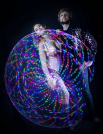 Lisa and Callum - Hula Hoop Performer - Bristol, South West