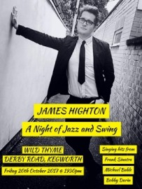 James Highton  - Male Singer - Derbyshire, Midlands