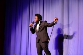 CRIS QUAMMIE THE SOUL SENSATION - Male Singer - United Kingdom, North of England