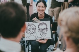 Cornwall Caricatures - Caricaturist - Truro, South West