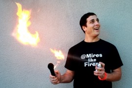Dan Mires like Fires - Adult Stand Up Comedian - San Francisco, California