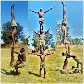 Makwerekwere  - Aerialist / Acrobat - Harare, Zimbabwe
