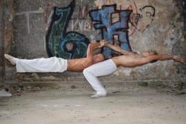DUO WHITE, adagio act - Acrobalance / Adagio / Hand to Hand Act - 59-500, Poland
