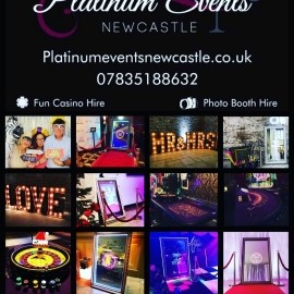 Platinum Events Newcastle  - Casino & Gambling Tables - Newcastle upon Tyne, North of England