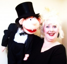 Merlynda Marlene - Walkabout Ventriloquist - Mix and Mingle Ventriloquist - Close-Up At Table Ventriloquist - The Perfect Ice-Breaker! - Corporate Events - Black Tie Events - Cocktails - Receptions - Balls - Ventriloquist - Bideford, South West