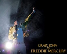 Craig john - Freddie Mercury Tribute Act - Northumberland, North East England