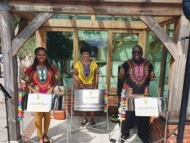 Juma Steel Band - Steel Drum Band - London Beach, South East