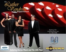 Darron Moore and The 14th Floor Motown / Luther Vandross Experience - Soul / Motown Band - United States, Michigan