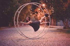 Luisina Rosas - Cyr Wheel Act - Montréal, Quebec