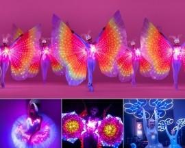 Z-SHOW Illuminated performances - LED Entertainment - Prague, Czech Republic