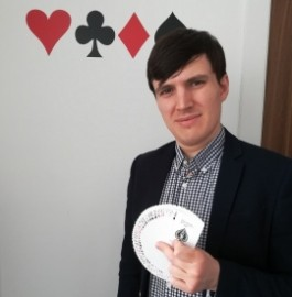 Alex Sprackling - Close-up Magician - South Wimbledon, London