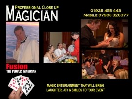 Fusion - Close-up Magician - CHESHIRE, North West England