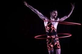 Volcanic Ash  - Hula Hoop Performer - Scotland