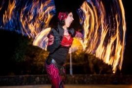 Sacred Fire Dance - Fire Performer - Sacramento, California