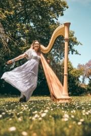 Martha In The Stars  - Harpist - Penarth, Wales